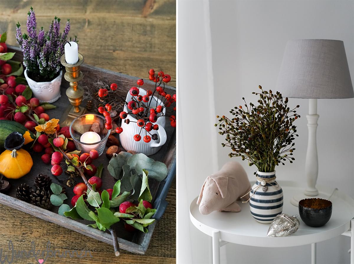 Hallo Oktober - hallo neue Deko! - Wunderbrunnen - Foodblog - Fotografie