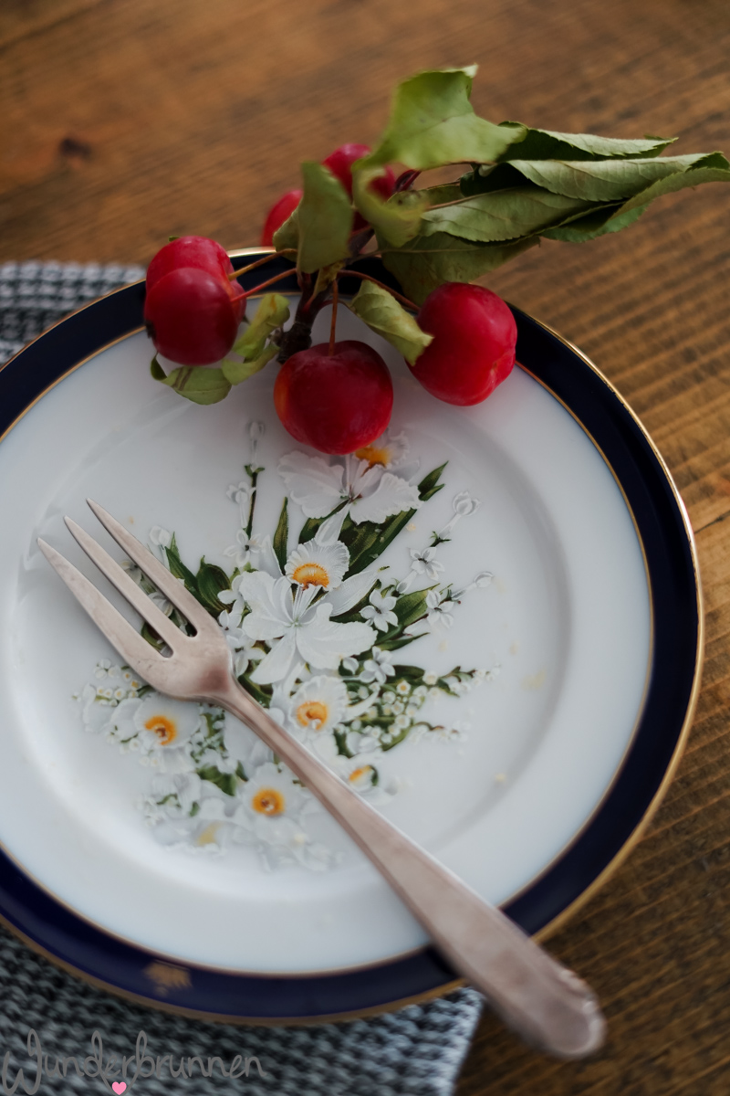 Apfel-Blechkuchen - Wunderbrunnen - Foodblog - Fotografie