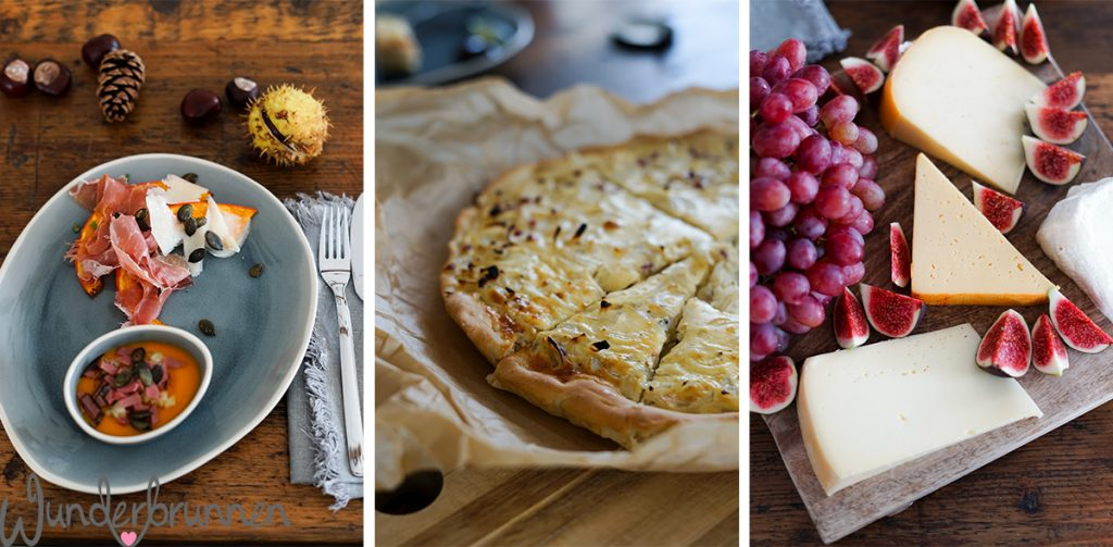 Herbst-Menü mit Zwiebelkuchen - Wunderbrunnen - Foodblog - Fotografie