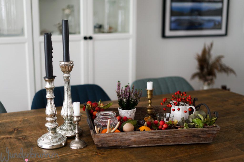 Herbstliche Deko-Inspiration - Wunderbrunnen - Foodblog - Fotografie