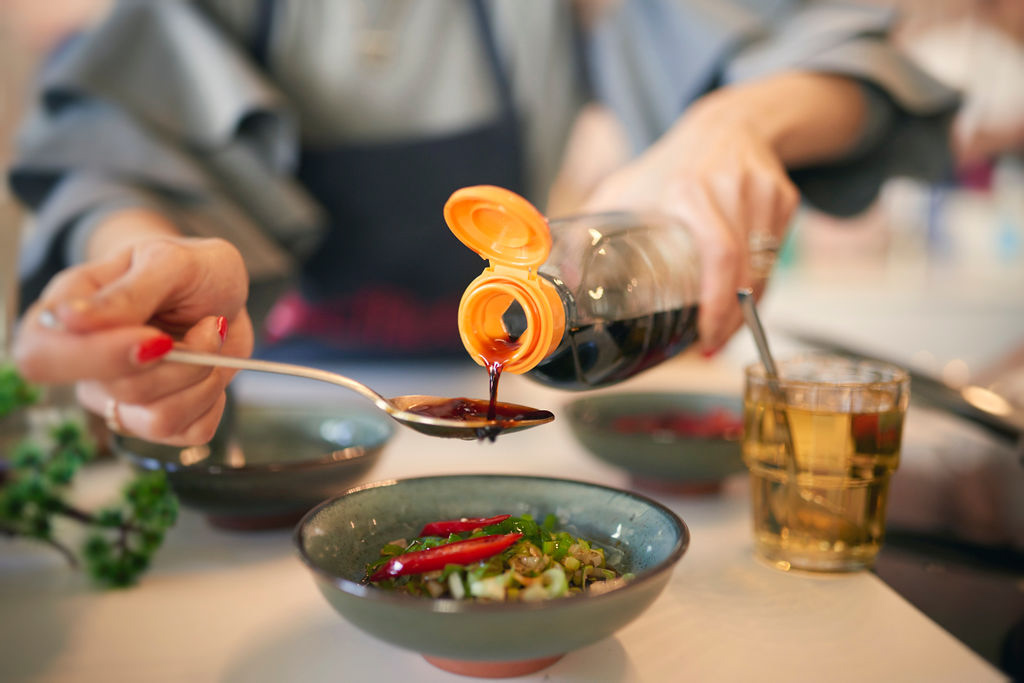 Koreanisch kochen mit Effilee - Japchae - Wunderbrunnen - Foodblog - Fotografie