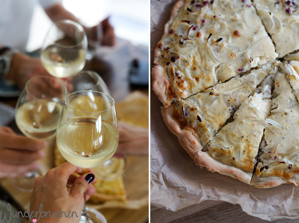 Herbst-Menü mit Zwiebelkuchen - Wunderbrunnen - Foodblog - Fotografie