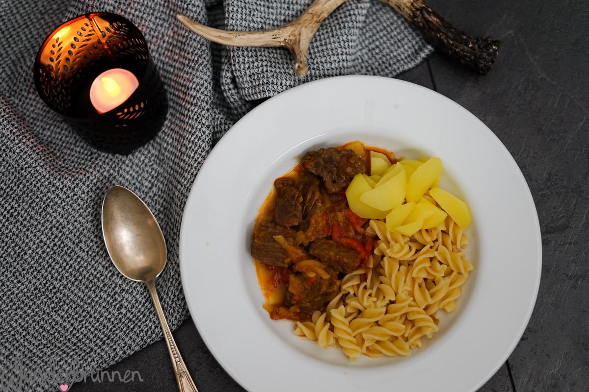 Gulasch Soulfood - Wunderbrunnen - Foodblog - Fotografie