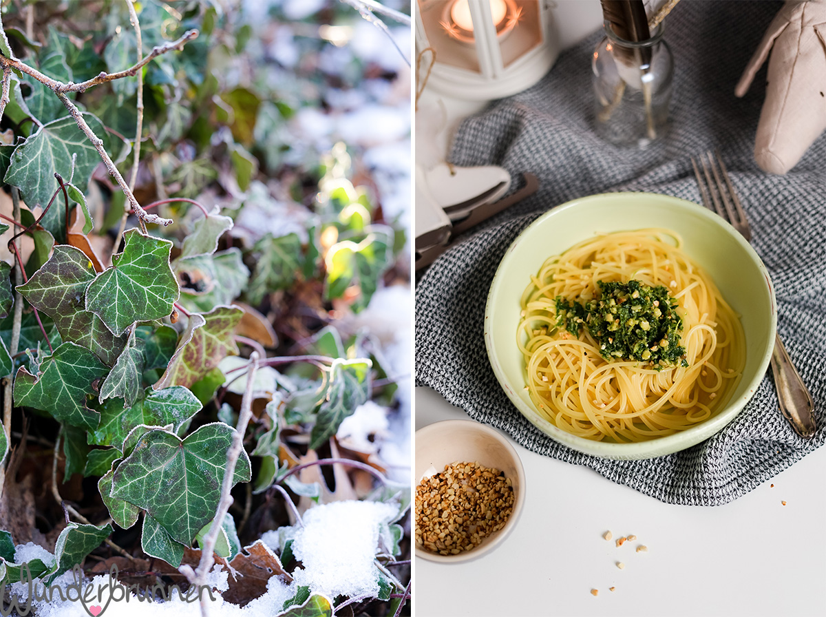 Grünkohl-Pesto für Saisonal schmeckt's besser - Wunderbrunnen - Foodblog - Fotografie