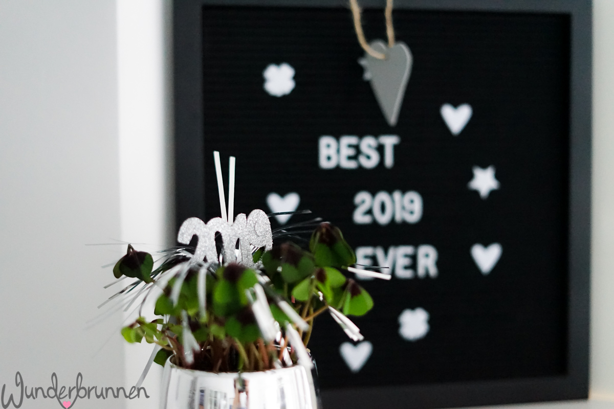 Hallo 2019! - Wunderbrunnen - Foodblog - Fotografie