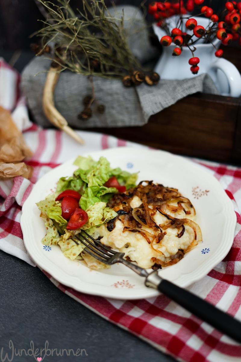 Käsespätzle - Wunderbrunnen - Foodblog - Fotografie