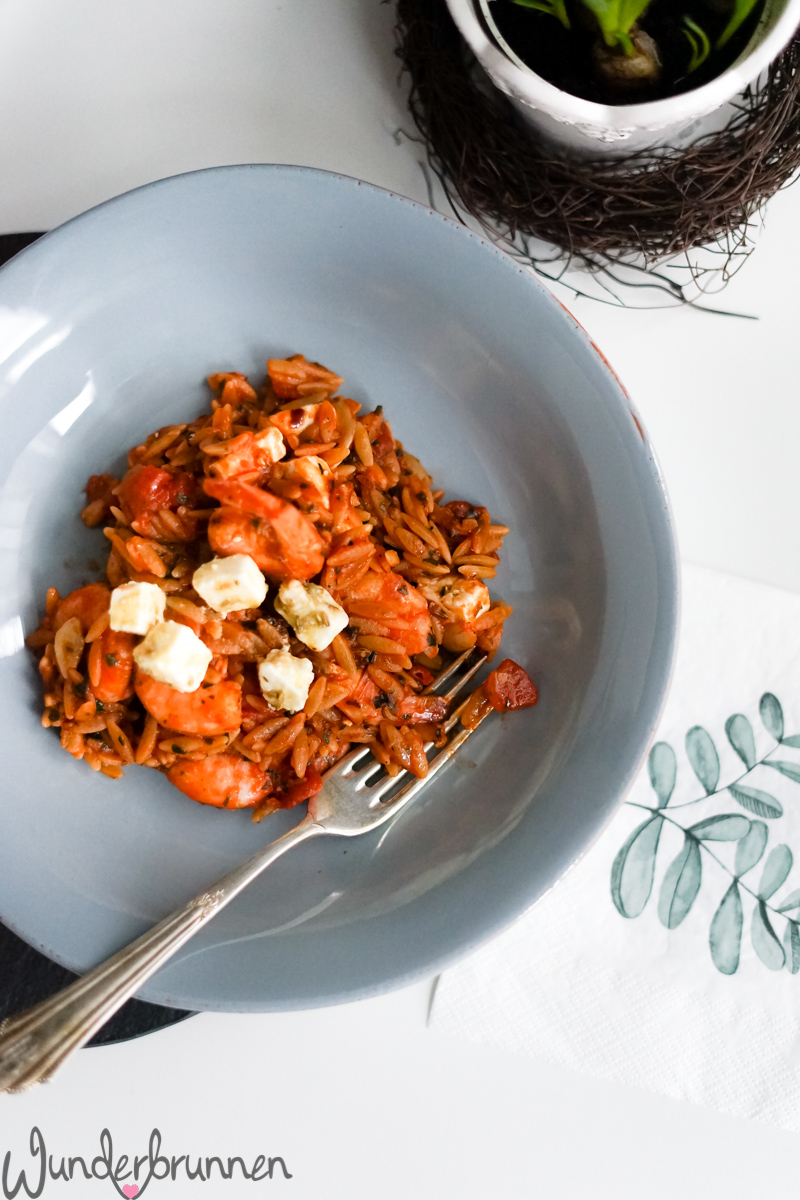 Orzo-Nudeln nach Ottolenghi - Wunderbrunnen - Foodblog - Fotografie